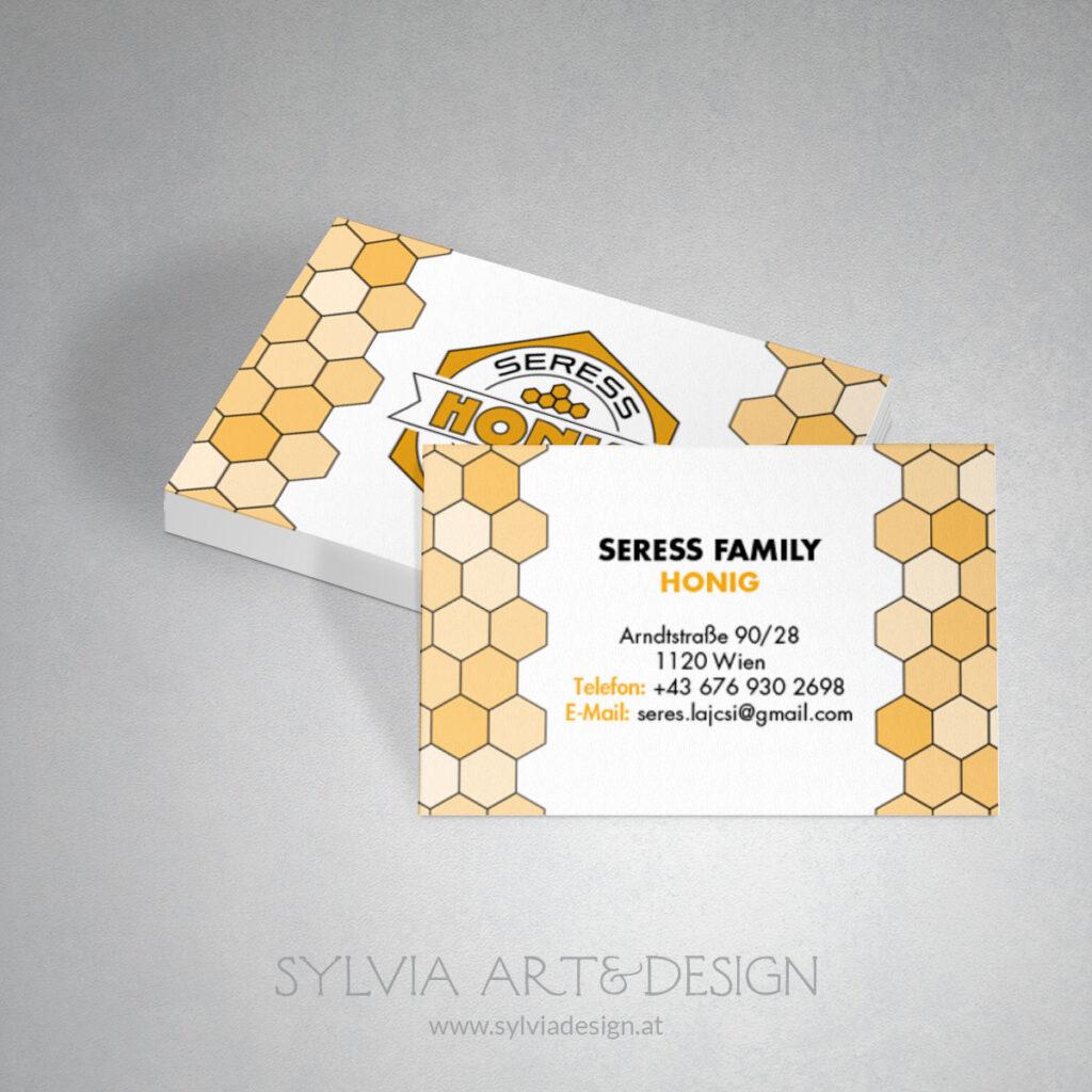 Seress Honig Visitenkarte