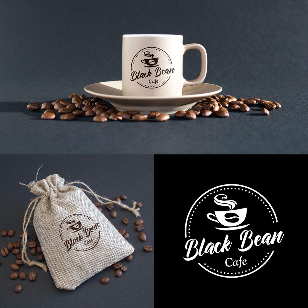 Black Bean Cafe Logo