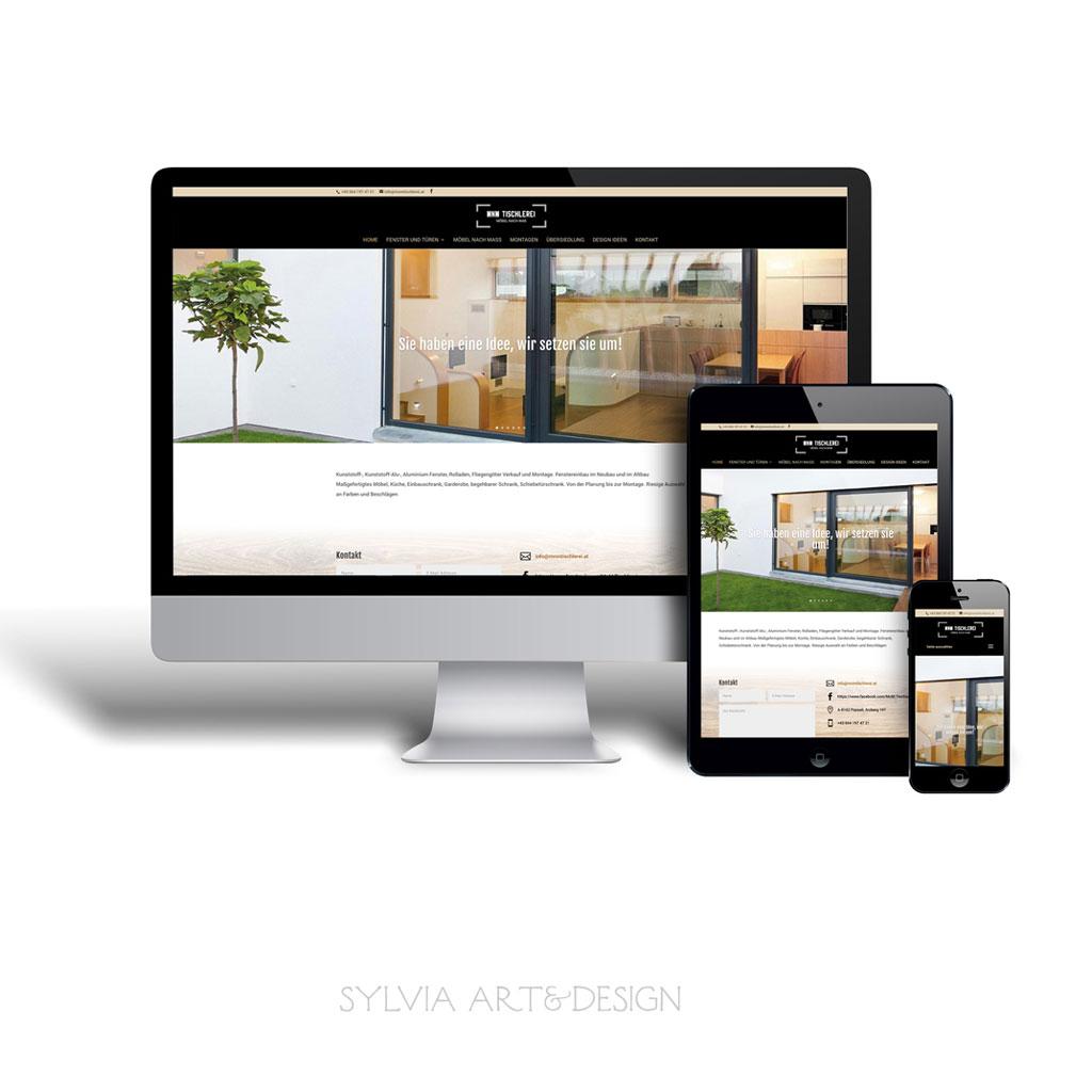 MNM Tischlerei Webdesign