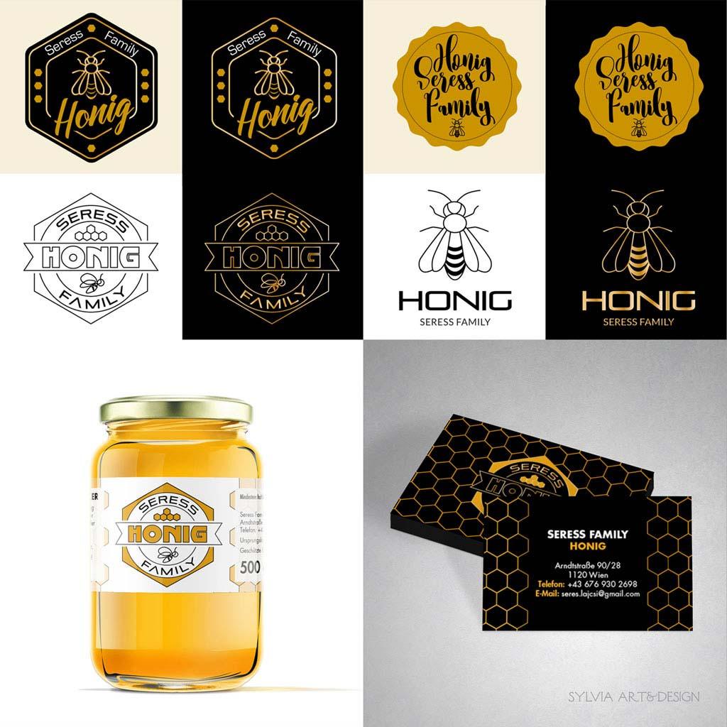Seress Honig Corporate-Design
